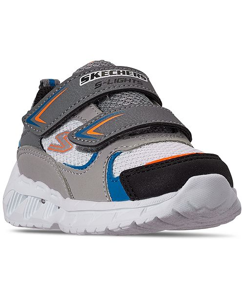 Skechers Toddler Boys Magna-Lights Vendow Stay-Put Closure Casual Sneakers from Finish Line