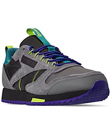 Men's Classic Leather Ripple Trail Casual Sneakers from Finish Line