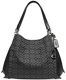 Signature Jacquard Dalton 31 Shoulder Bag