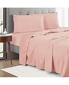 4-Piece Full Sheet Set with Anti Odor Technology