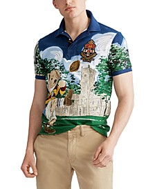 Men's Classic Fit Bear Polo