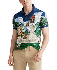 Polo Ralph Lauren Men's Custom Slim Fit Bear Polo