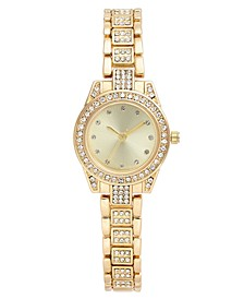 Women's Crystal Gold-Tone Bracelet Watch 27mm, Created for Macy's