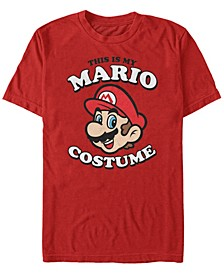 Nintendo Men's Super Mario Halloween Costume Short Sleeve T-Shirt