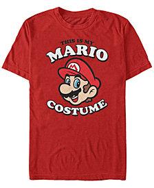 Nintendo Men's Super Mario Halloween Costume Short Sleeve T-Shirt