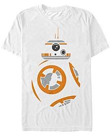 Star Wars Men's Bb8 Big Face Costume Short Sleeve T-Shirt