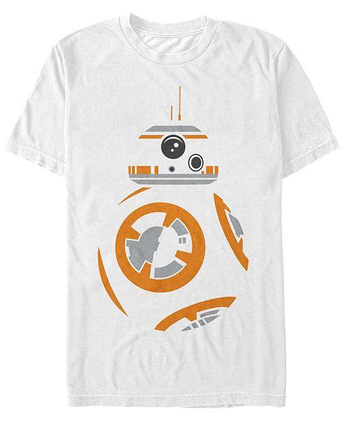 Fifth Sun Star Wars Men's Bb8 Big Face Costume Short Sleeve T-Shirt