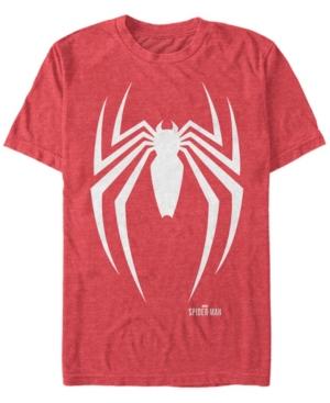 Marvel Men's Spider-Man Gamerverse Spider Chest Logo Short Sleeve T-Shirt
