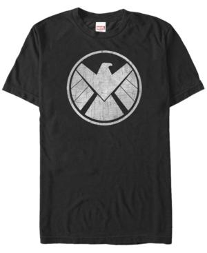Marvel Men's Avengers Assemble Agents of S.h.i.e.l.d. Logo Costume Short Sleeve T-Shirt