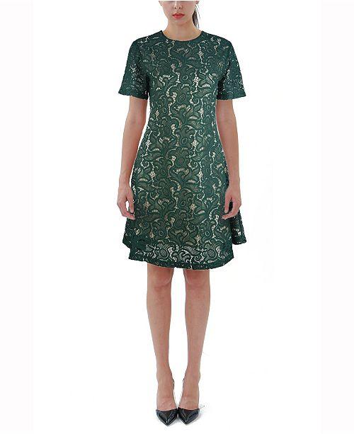 VHNY Lace Midi Dress
