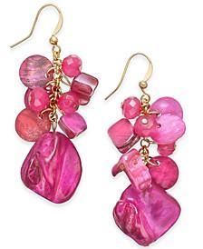 Shaky Bead & Shell Drop Earrings, Created For Macy's