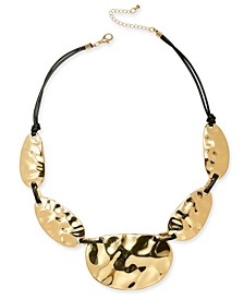 """Silver-Tone Statement Necklace, 21"""" + 3"""" extender, Created For Macy's"""