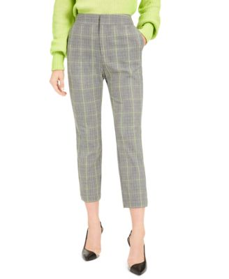 Becca Tilley x Plaid Tapered Pants, Created For Macy's