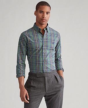 폴로 랄프로렌 Polo Ralph Lauren Mens Classic Fit Stretch Poplin Button-Down Shirt