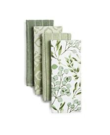 Jennifer Adams Tile Jacq Kitchen Towel Set, Set of 4