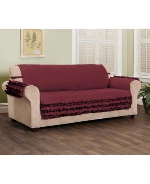 P/Kaufmann Home Claremont Ruffled Xl Sofa Furniture Cover