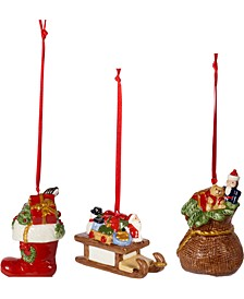 Set of 3 Gift Box Ornaments