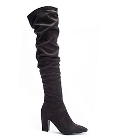 Roland Slouchy Over The Knee Boots