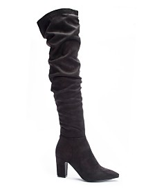 Chinese Laundry Roland Slouchy Over The Knee Boots