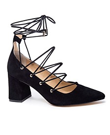 Odelle Block Heel Pumps