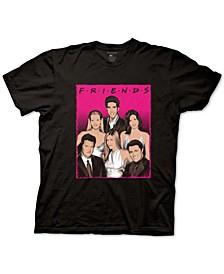 Friends Neon Men's Graphic T-Shirt
