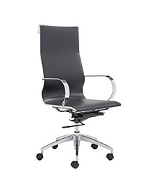 Modern Conference Office Chair, High Back