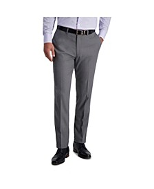 Stretch Heather Skinny Fit Flat Front Suit Separate Pant