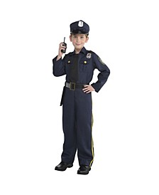 Toddler Boys Police officer Costume