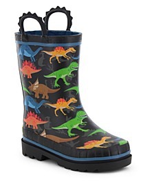 Toddler, Little Boy's and Big Boy's Printed Rubber Rain Boots