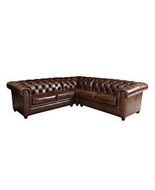 Prim 3-Pc Sectional Sofa