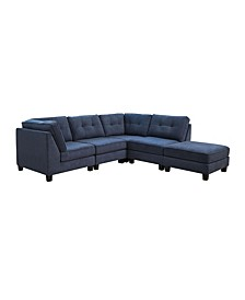 Gaya 5-Pc Sectional Sofa