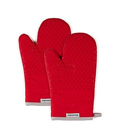 "Asteroid Oven Mitts, 5.5""x 8"", Set of 2"