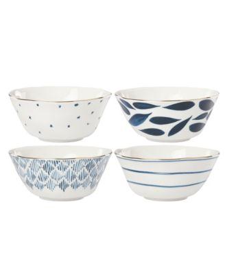 Blue Bay Set/4 Assorted All Purpose Bowls