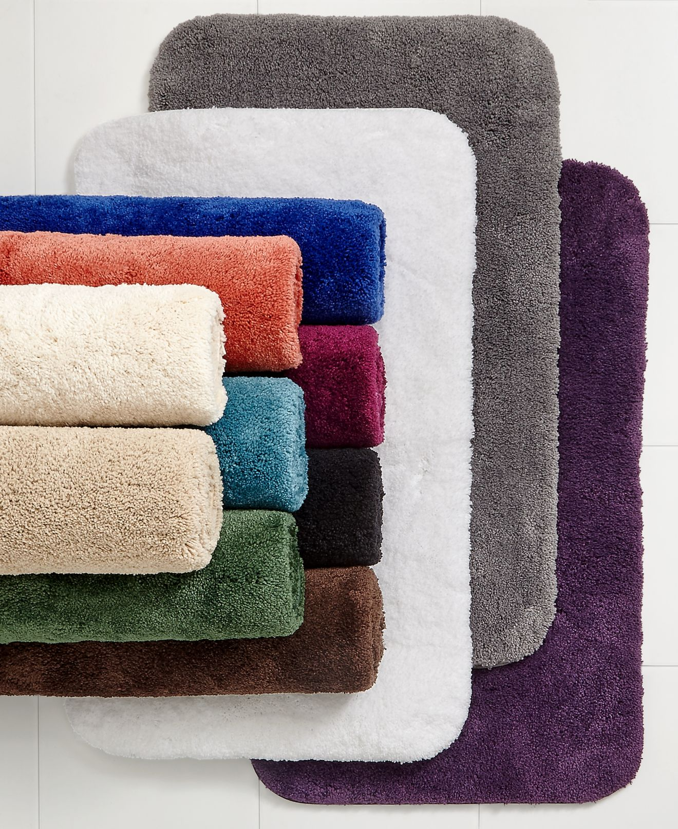 closeout! charter club classic bath rug collection, only at macy's