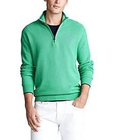 폴로 랄프로렌 쿼터집업 스웨터 Polo Ralph Lauren Mens Textured Quarter-Zip Sweater