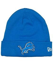 Detroit Lions Basic Cuff Knit Hat