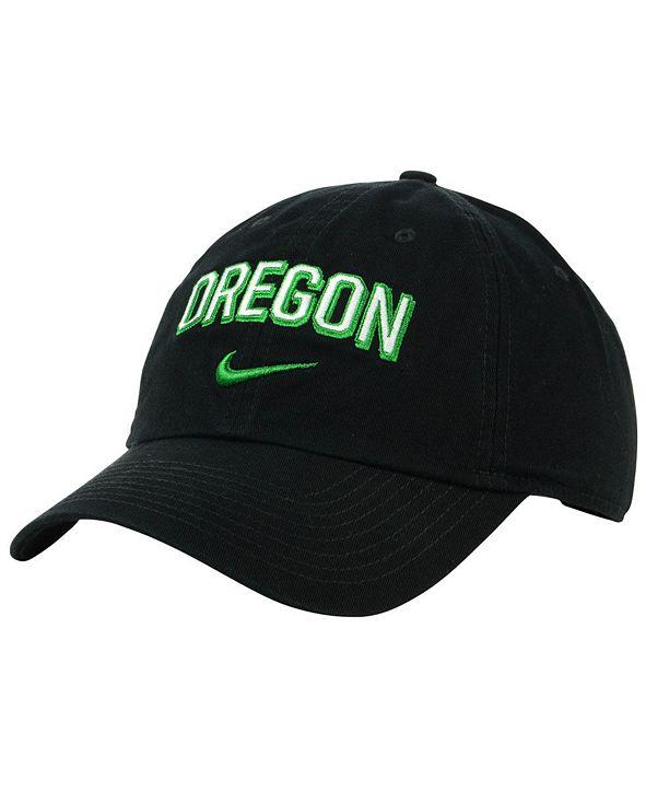 Nike Oregon Ducks H86 Wordmark Swoosh Cap