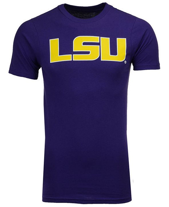New Agenda Men's LSU Tigers Big Logo T-Shirt