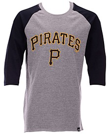 Big Boys Pittsburgh Pirates Super Rival Raglan T-Shirt