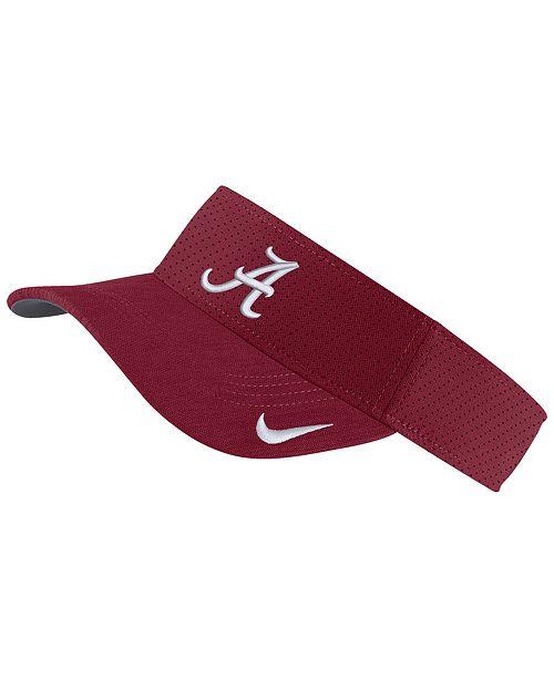Nike Alabama Crimson Tide Sideline Visor