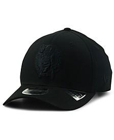Boston Celtics Triple Black 9FIFTY Snapback Cap