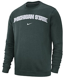 Men's Michigan State Spartans Club Fleece Crewneck Sweatshirt