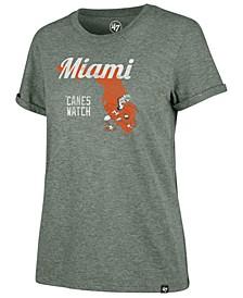 Women's Miami Hurricanes Regional Match Triblend T-Shirt