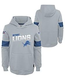 Big Boys Detroit Lions Therma Hoodie