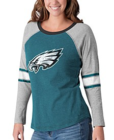 Women's Philadelphia Eagles Long Sleeve Top Pick T-Shirt
