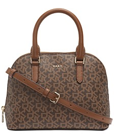 Bryant Dome Logo Satchel, Created For Macy's