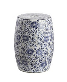 Lotus Blossom Garden Stool, Quick Ship
