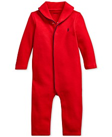 Baby Boys French-Rib Cotton Coverall