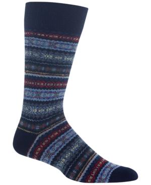 Polo Ralph Lauren Men's Fair Isle Wool Socks