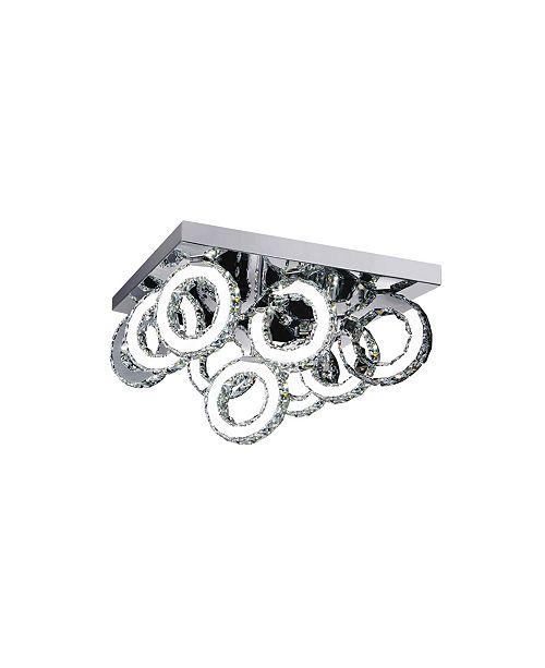CWI Lighting CLOSEOUT! Ring LED Flush Mount